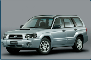 Subaru Forester Turbo 2004-2013